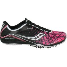 SALE - Saucony Shay XC3 Running Cleats Womens Black - BUY Now ONLY $79.95