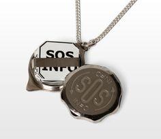 SOS-riipus, hopea