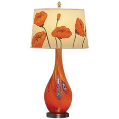 I pinned this Poppy Table Lamp from the Colorwheel: Mandarin & Mint event at Joss and Main!