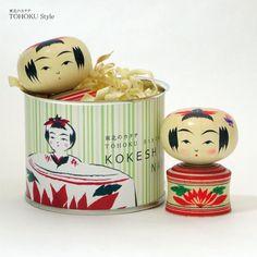 こけし缶 柿澤是伸 鳴子系 - Shimanuki Online Shop