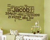 baby wall art http://media-cache9.pinterest.com/upload/265290234269270120_1Hw5CJru_f.jpg jenowiz this is words