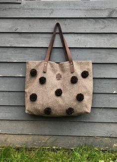 Vintage Purse 5x5 Brown Spotted Metal Mesh Used
