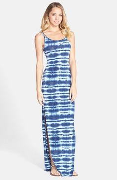 BCBGeneration Print Stretch Knit Maxi Dress available at #Nordstrom