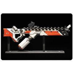 District 9: Assault Riffle Miniature by Weta Collectibles. $98.99. Cast in solid white metal, the Assault Rifle Prop Replica weighs 2 3/5 pounds and comes on a display stand. The limited edition piece perfectly captures the groundbreaking weapons design of District 9 and is the first in the Weta range of District 9 miniature guns. Limited to 750 pieces worldwide.. All the awesomeness of the District 9 alien weaponry! Exquisitely detailed and battle-worn Assault Rifle Prop Repli...
