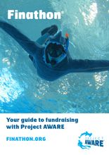 Finathon Factsheet - Your guide to fundraising with Project AWARE #Finathon