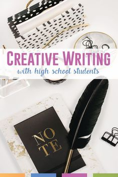 Are you teaching creative writing with high school students? Use images, inspiration, and constructive feedback to shape your writing lessons. You are in the right place about america Creative Writing Classes, Writing Prompts For Kids, Writing Lessons, Writing Skills, Writing Resources, Writing Activities, Writing Ideas, Math Lessons, Teaching Resources