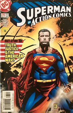 Chris is on Infinite Earths: Action Comics #775 (2001)