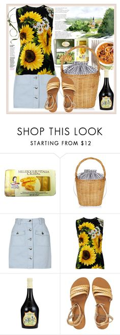 """""""Away from smog & noise"""" by natalyapril1976 ❤ liked on Polyvore featuring Aquarelle, Edie Parker, MINKPINK, Dolce&Gabbana, Billabong, Summer, set and look"""
