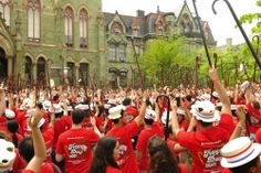"Ask Penn students what their favorite Penn tradition is, and  many will answer ""HEY DAY!"""