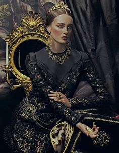 How To Spend It. Ornate Expectations. #Baroque #Lanvin