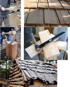 Dlouhodobý průvodce pro přežití - Kabiny pro přežití | Log Cabin | Střecha