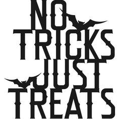 Silhouette Design Store - View Design #227370: no tricks just treats
