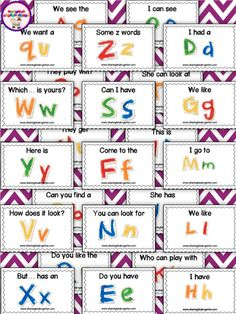 ABC Readers- this is the perfect way to use readers in your classroom without buying tons of printed books! These are differentiated as well.