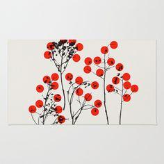 Love 1 Area & Throw Rug by Garima Dhawan - $28.00