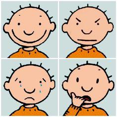 Body Preschool, Preschool Crafts, Les Sentiments, Feelings And Emotions, Working With Children, Social Skills, In Kindergarten, Smiley, Teaching Kids