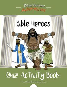 Bible Heroes | Bible Quizzes for boys. Includes Jonah, Abraham, Joseph, Moses, Samson, Yeshua, Paul the Apostle, and much more.