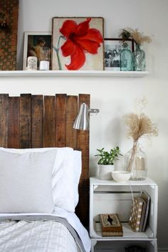Smart DIY Pallet Projects Ideas for Your Home Interior Design Modern Bedroom Decor, Bedroom Decor For Small Rooms, House Interior, Minimalist Bedroom Design, Furniture, Home, Interior, Contemporary Headboards, Furniture Design Modern