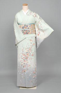 Japanese Costume, Japanese Kimono, Japanese Fashion, Asian Fashion, Traditional Japanese, Traditional Outfits, Comic Clothes, Kanzashi, Female Clothing