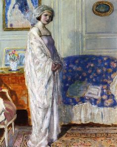 In the Morning Room  Frederick C. Frieseke -