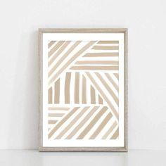 Geometric Wall Art, Abstract Wall Art, Abstract Print, Canvas Wall Art, Wall Art Prints, Diy Wall Art, Modern Wall Art, Wall Art Bedroom, Simple Wall Art