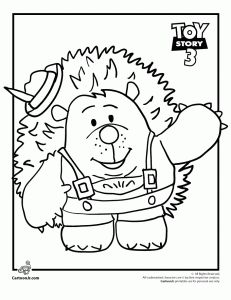 Mr. Pricklepants Toy Story Coloring Page. because even a 22 year old can like to color.