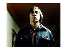 No Country for Old Men - He gives me chills. Such an amazing movie.