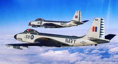 McDonnell Banshees in formation Royal Canadian Navy, Canadian Army, Canadian History, Military Jets, Military Aircraft, Airplane Art, Navy Aircraft, Aircraft Pictures, Air Force