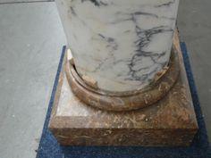 Pair of columns marble - Autres Décorations - Cheminées et décorations - Nord Antique