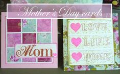 Mother's Day Card Ideas To Make