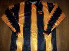 1997 1998 Annan Athletic Long sleeved L/s Football Shirt Top Scotland Adults XL