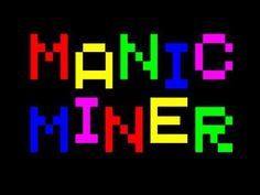 AtariCrypt: Manic Miner (again! Best Games, Will Smith, The Twenties, Growing Up, Shit Happens, Grow Taller