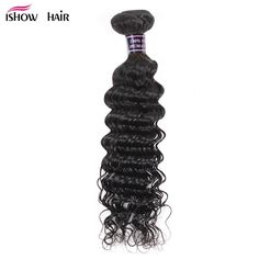 Ishow Hair Peruvian Deep Wave Bundles Human Hair Weave Bundles Natural Color Non Remy Hair Extensions Can Buy 3 Or 4 Bundles. Yesterday's price: US $9.97 (8.18 EUR). Today's price: US $9.97 (8.21 EUR). Discount: 56%.