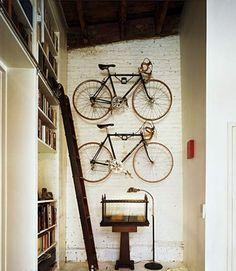 Storage for Bikes.
