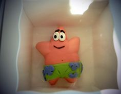 Mini patrick cake from spongebob square pants
