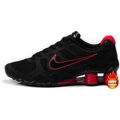 quality design 1b152 4298f Nike Shox -Turbo12 Men Black-Red Mens Nike Shox, Nike Men, Nike