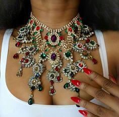 Loveee Bold Jewelry, Bohemian Jewelry, Cute Jewelry, Bling Jewelry, Statement Jewelry, Jewelry Sets, Wedding Jewelry, Jewelery, Fashion Necklace