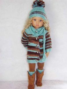 54 Besten Puppenkleidung Für Götz 50 Cm Puppen Bilder Auf Pinterest