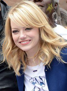 Emma Stone's Long Wavy Hairstyle