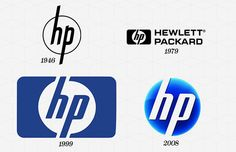 "Hewlett-Packard Company (HP) Year Company Founded: 1939  Year Logo Introduced: 1939  Logo Designer: Landor Associates (1999), Liquid Agency (2008)  Company Founders: Bill Hewlett, David Packard  The Hewlett-Packard logo was born in 1939 and remains virtually unchanged to this day. There was talk in 2011 of simplifying and modernizing the logo with angular lines placed at angles mirroring the ""h"" and ""p,"" but nothing came of it. So, to this day, Hewlett-Packard uses the rounded logotype of…"