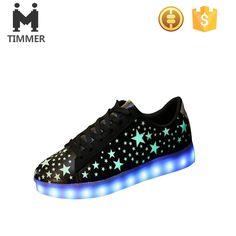 01d0dc6555e 2016 Hottest Design Led Light Up Star Design Fashion Young Oem oem Logo  Casual Shoes