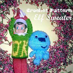 Elf on the shelf, Free pattern and Shelves on Pinterest