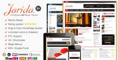 Download Jarida WordPress Theme Free (News, Magazine)
