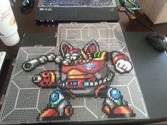 Flame Mammoth - Mega Man X perler beads by Michahay on DeviantArt