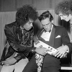 "Tim Stanley on Twitter: ""Jimi Hendrix teaches Jeremy Thorpe how to ..."