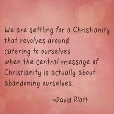 David Platt - author of Radical Follow us at http://gplus.to/iBibleverses
