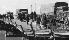 Knocked out bridge in Kharkov 1943