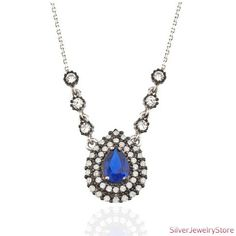 Authentic Silver Necklace by SilverJewelryStore on Etsy, $29.00