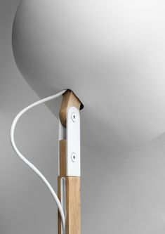 Hinge white lamp