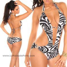 Trikini Raine zebra