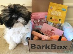 BarkBox Review + Coupon Code - March 2017